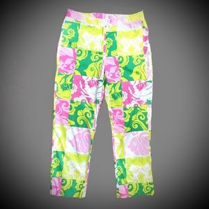 Lilly Pulitzer Print Stretch Pant